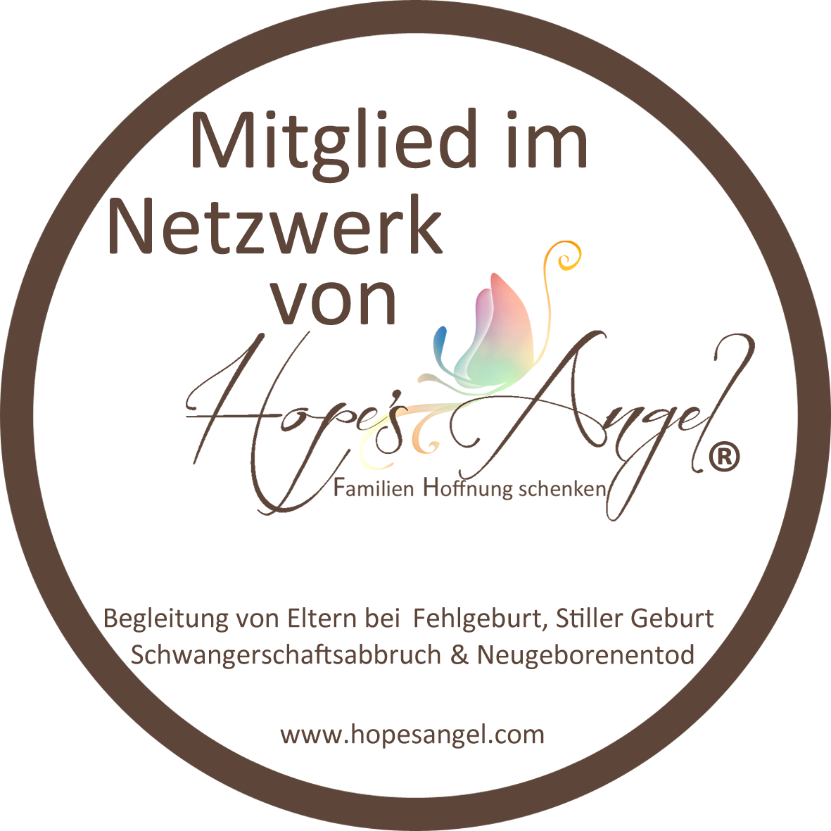 Mitglied bei Hopes Angel